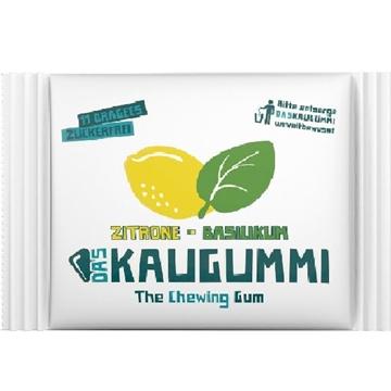 Billede af Das Kaugummi Zitron & Basilikum 15,4 g.