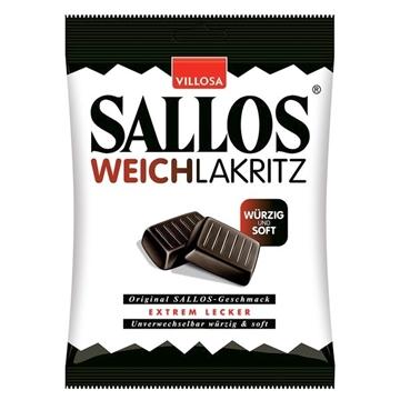 Billede af Sallos Weichlakritz 150 g.