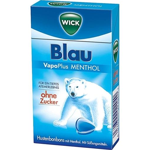 Billede af Wick Blau Vapo Plus Menthol 46 g.