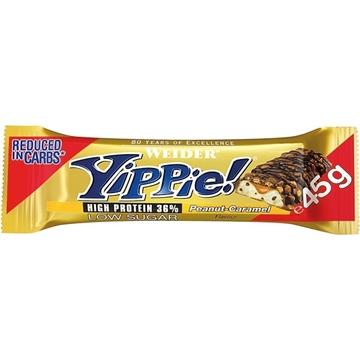 Billede af Weider Yippie! Bar Peanut Caramel 45 g.