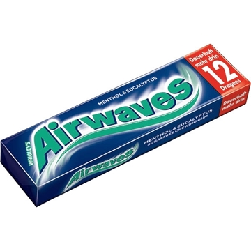 Billede af Wrigley's Airwaves Menthol & Eucalyptus 14 g.
