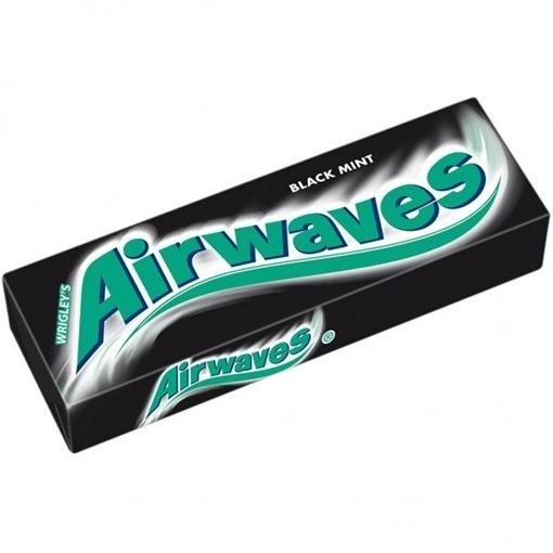 Billede af Wrigley's Airwaves Black Mint 14 g.