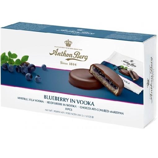 Billede af Anthon Berg Blåbær i Vodka 192.5 g.