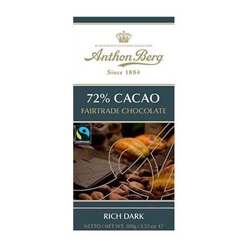 Billede af Anthon Berg Fairtrade 72% 100 g.