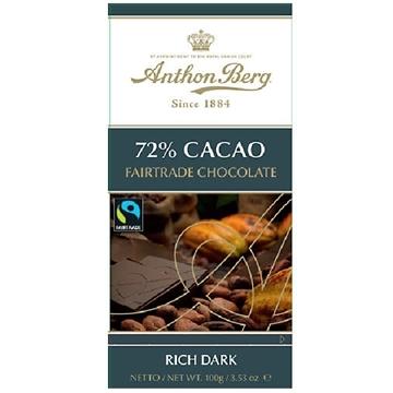 Billede af Anthon Berg Fairtrade Mørk 100 g.