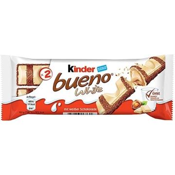 Billede af Ferrero Kinder Bueno Hvid 2er 39 g. MHT 20-10-2021