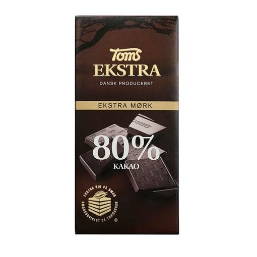 Billede af Toms Ekstra 80% 100 g.