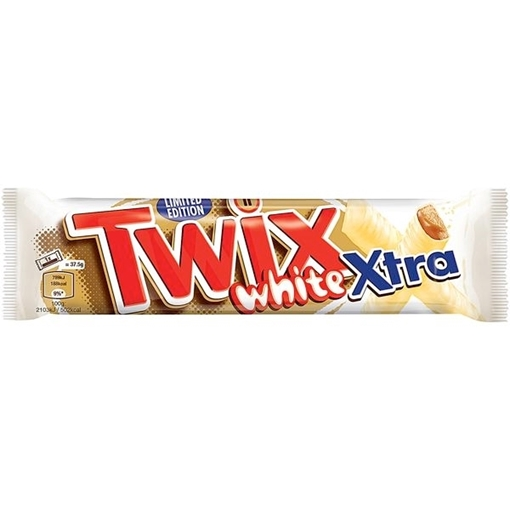 Billede af Twix White X'tra Riegel limited Edition 75 g.