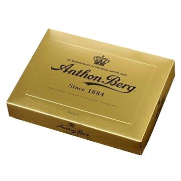 Billede af Anthon Berg Luxury Gold 800 g. - STOP MADSPIL