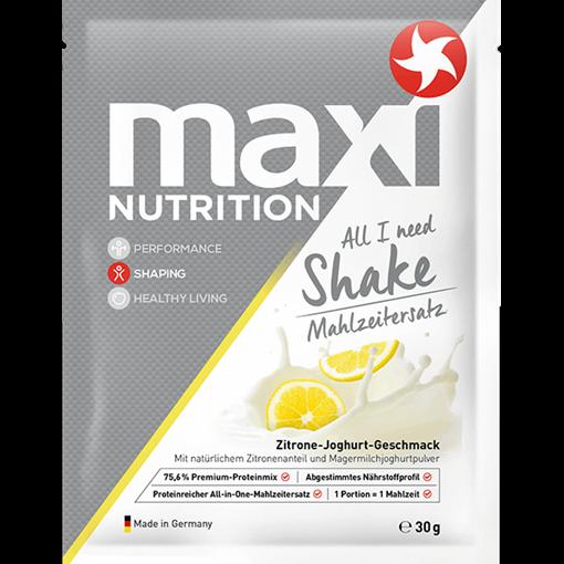 Billede af maxi Nutrition All I need Shake Måltids erst. Citron & Yoghurt 30 g.