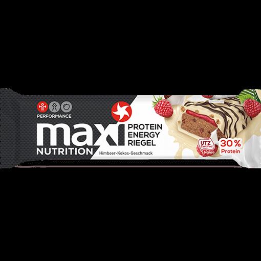 Billede af maxi Nutrition Protein Energi Bar Hindbær & Kokus 50 g.