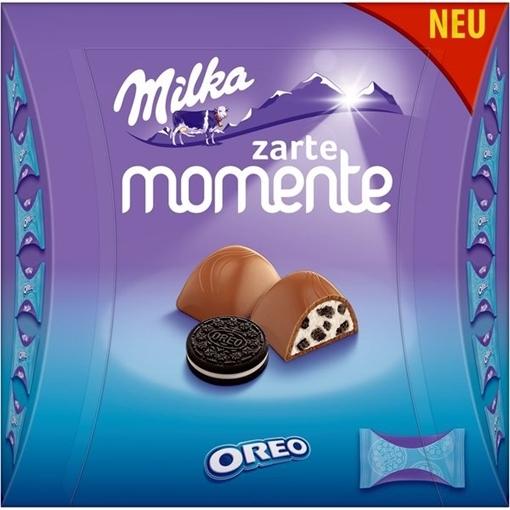 Billede af Milka Zarte Momente Oreo 159 g.