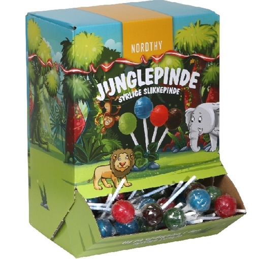 Billede af Junglepinde - Slikkepinde  ca.90 stk.