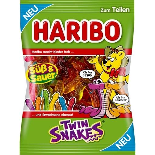 Billede af Haribo Twin Snakes 175 g.