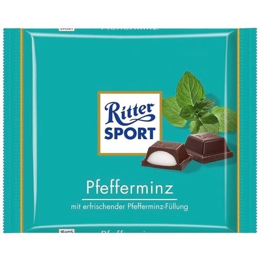 Billede af Ritter Sport Pfefferminz 100 g. MHT. 29-05-2020