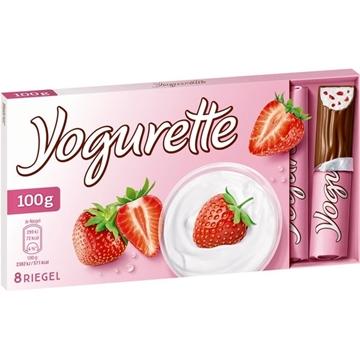 Billede af Ferrero Yogurette Jordbær 100 g.