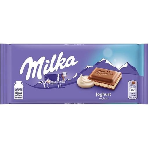 Billede af Milka Joghurt 100 g. MHT 17-09-2020