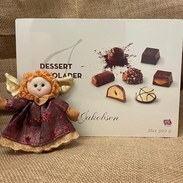 Billede af Jakobsen Dessert Chokolader 300 g. MHT. 11-01-2021