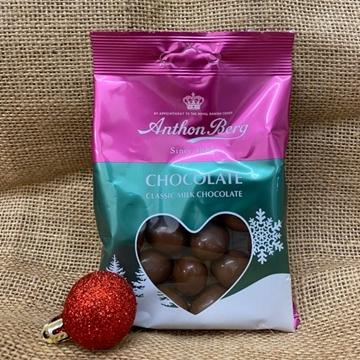Billede af Anthon Berg Chokolade Dragee 80 g. MHT.  09-08-2021