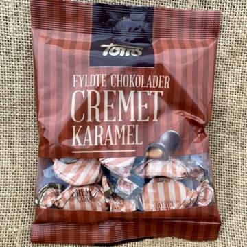 Billede af Toms Cremet Karamel 115 g. MHT. 30-07-2021