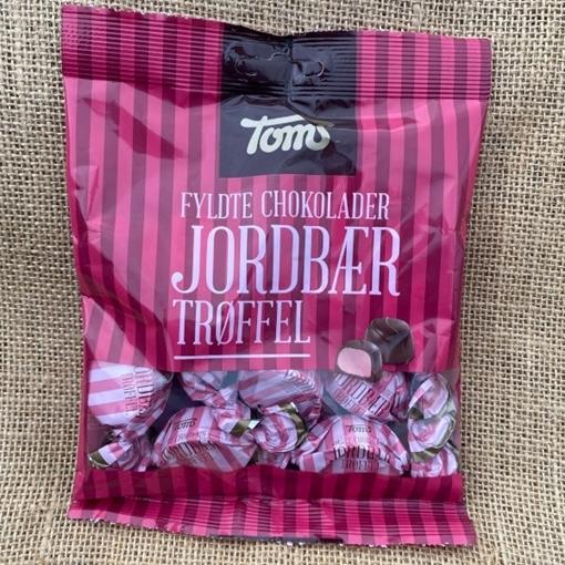 Billede af Toms Jordbær Trøffel 105 g.