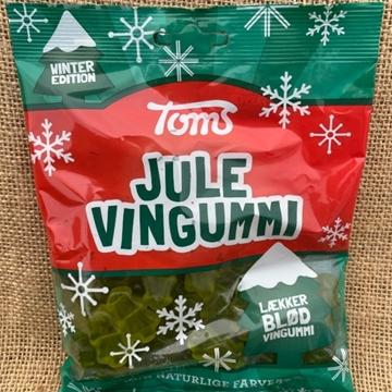 Billede af Toms Jule Vingummi 200 g. MHT. 01-11-2021