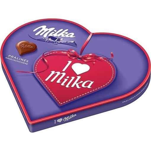 Billede af I Love Milka Hasselnød Creme 165 g. MHT. 30-10-2020