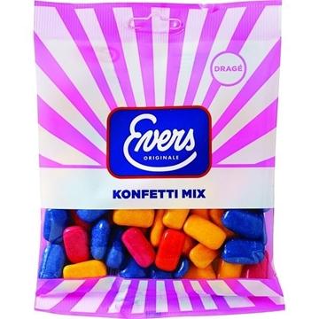 Billede af Evers Konfetti Mix 210 g.