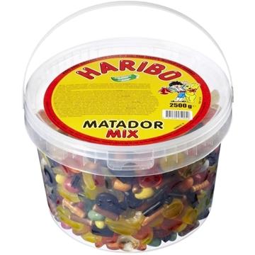 Billede af Haribo Matador Mix 2500 g. MHT 31-12-2020