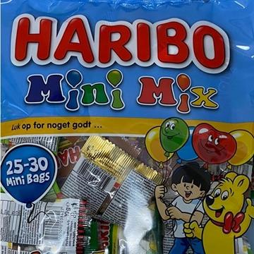 Billede af Haribo Mini Mix 300 g.