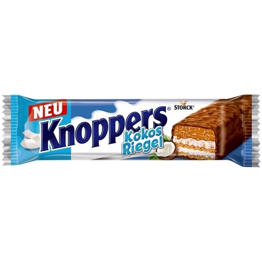 Billede af Knoppers Kokus Bar 40 g. MHT. 10-05-2021