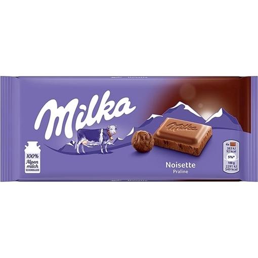 Billede af Milka Noisette 100 g. MHT 19-09-2021