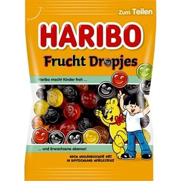 Billede af Haribo Frukt Dropjes 175 g.
